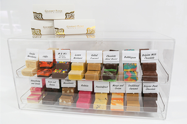 Gourmet Fudge Company packages